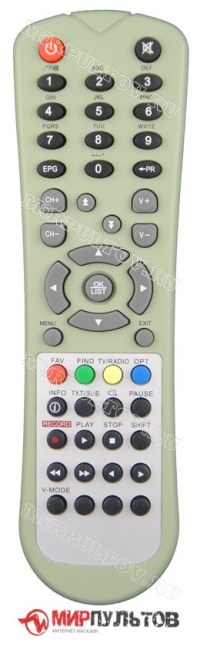 Пульт SkyWorth HSD11, HS7700 МТС