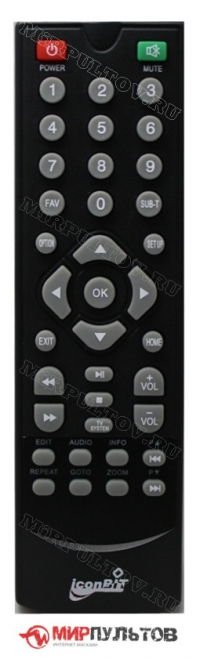 Пульт IconBit HDS38F вариант 2