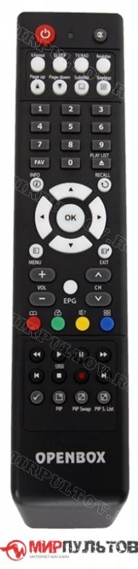 Пульт OPENBOX S4 PRO+ HD PVR, S5 HD PVR, S6 HD PVR
