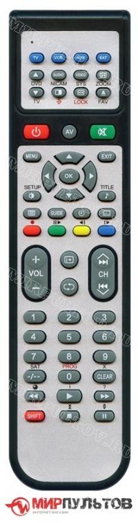 ! для спутниковых ресиверов, цифровых приставок DVB-T2 и IP TV - пульт IRC SAT F